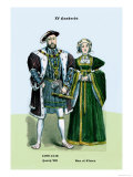 Henry VIII and Ann of Cleeves Posters by Richard Brown