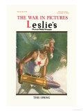 Leslie's: The War in Pictures Posters par Clyde Forsythe