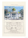 Persian Pavilion Posters by Richard Brown