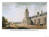 Old Soldiers Hospital, Kilmainham, Dublin, 1794 Prints by James Malton