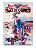 Wake Up, America! Posters