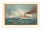 First Class Battle Ships Prints by  Werner