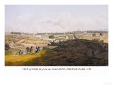 View of Dublin, From the Magazine, Phoenix-Park, 1795 Print by James Malton