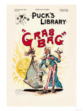 Puck's Library: Grab Bag Art by Frederick Burr Opper