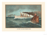 First Class Cruisers, 1899 Print by  Werner