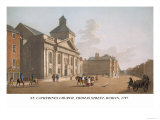 St. Catherines Church, Thomas Street, Dublin, 1797 Posters by James Malton