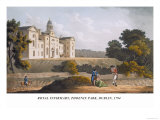 Royal Infirmary, Phoenix Park, Dublin, 1794 Prints by James Malton