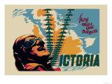 Victory Posters by Josep Renau Montoro