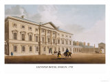 Leinster House, Dublin, 1792 Print by James Malton