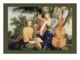 Sylvan Cellist Prints