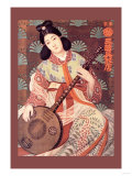 Japanese Musician Print