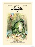 Judge Magazine: Croaking Again Prints by Grant Hamilton