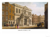Tholsel, Dublin, 1798 Prints by James Malton