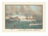 U.S. Navy 2nd Class Cruisers, 1899 Prints by  Werner