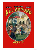 All Around Weekly: The Wild Beast Hunters Poster