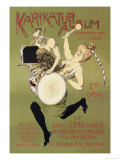 Woman and Pan with Drum Posters by Carsten Ravn