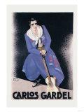Carlos Gardel Print