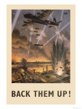 Back Them Up! Affiches par Roy Nockolds