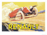 Renault Prints by Henri Bellery-desfontaines