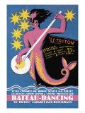Bateau Dancing Posters