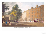 Charlemont-House, Dublin, 1793 Print by James Malton