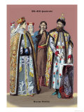 Russian Nobility, 19th Century Print by Richard Brown