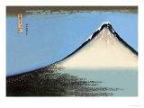 Der Fuji in Japan Kunstdruck von Katsushika Hokusai