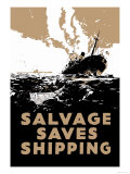 Salvage Saves Shipping Photo by E. Oliver