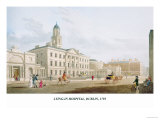Lying-In Hospital, Dublin, 1795 Print by James Malton