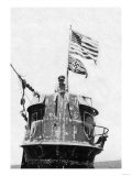 Old Glory Flies over the U-505 Posters