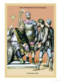 Carolingian King, 8th Century B.C. Prints by Richard Brown