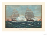 U.S. Navy Frigate, 1815 Prints by  Werner
