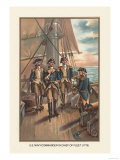 U.S. Navy, Commander and Chief of Fleet, 1776 Print by  Werner