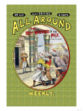 All Around Weekly: The Big Boy Wizard of the Nile Posters