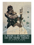 The Winter is an Enemy, But with Clothes We Can Defeat Him Posters by Juan Dapena Parrilla