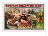 Buffalo Bill: Congress of American Indians Premium Giclee Print