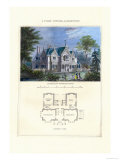 Tudor Cottage, Elizabethan Prints by Richard Brown