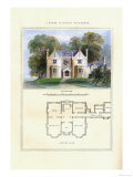 Tudor Suburban Residence Print by Richard Brown