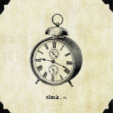 Office Clock Affiches par Paula Scaletta