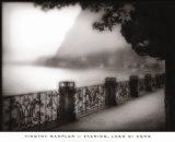 Evening, Lago di Como Prints by Timothy Wampler