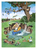 The Gallery Giclee Print by Gary Patterson