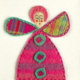Fuzzy Fairy I Print by Madeleine Millington