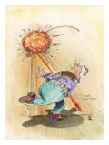 Strike Giclee Print by Gary Patterson
