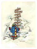 Easy Decision Giclee Print by Gary Patterson