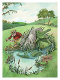 The Real Hazard Giclee Print by Gary Patterson