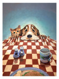 Dinner for Two Giclee Print by Gary Patterson