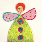 Fuzzy Fairy II Prints by Madeleine Millington
