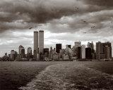 Manhattans skyline Poster af Walter Gritsik