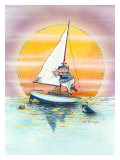 Boat Lover Giclee Print by Gary Patterson