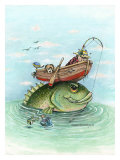 Catch of the Day Giclee Print by Gary Patterson